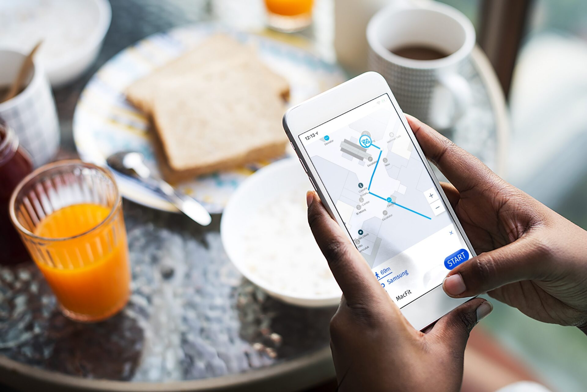 indoor navigation made easy with personalized routes