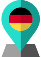 germany flag location