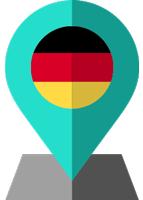 germany flag location