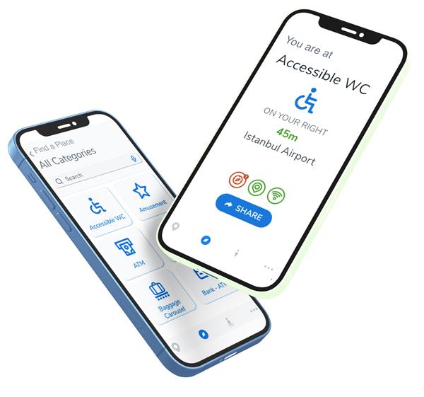 sesli adımlar accessible visitor experience tool