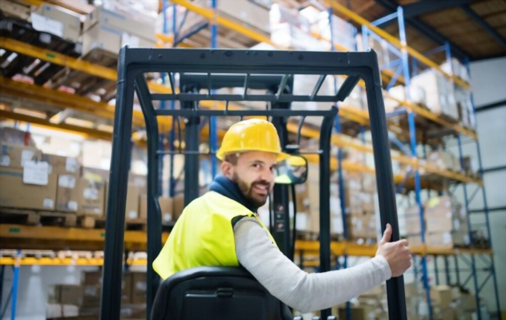 Forklift Proximity Warning system - safe steps